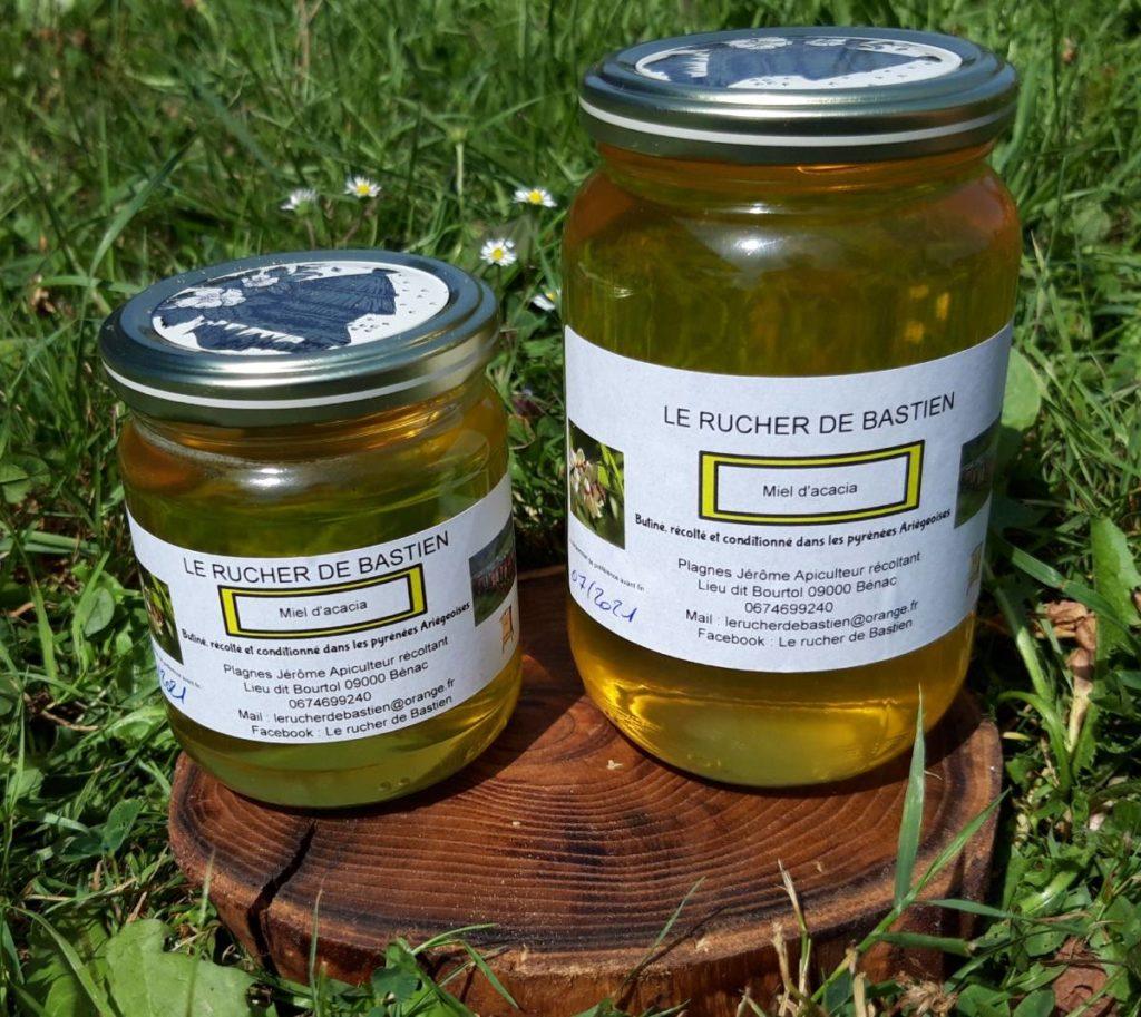 Miel acacia ariège-france