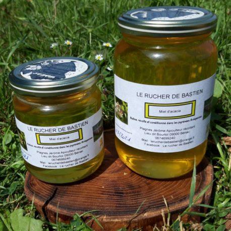 Miel acacia ariège france