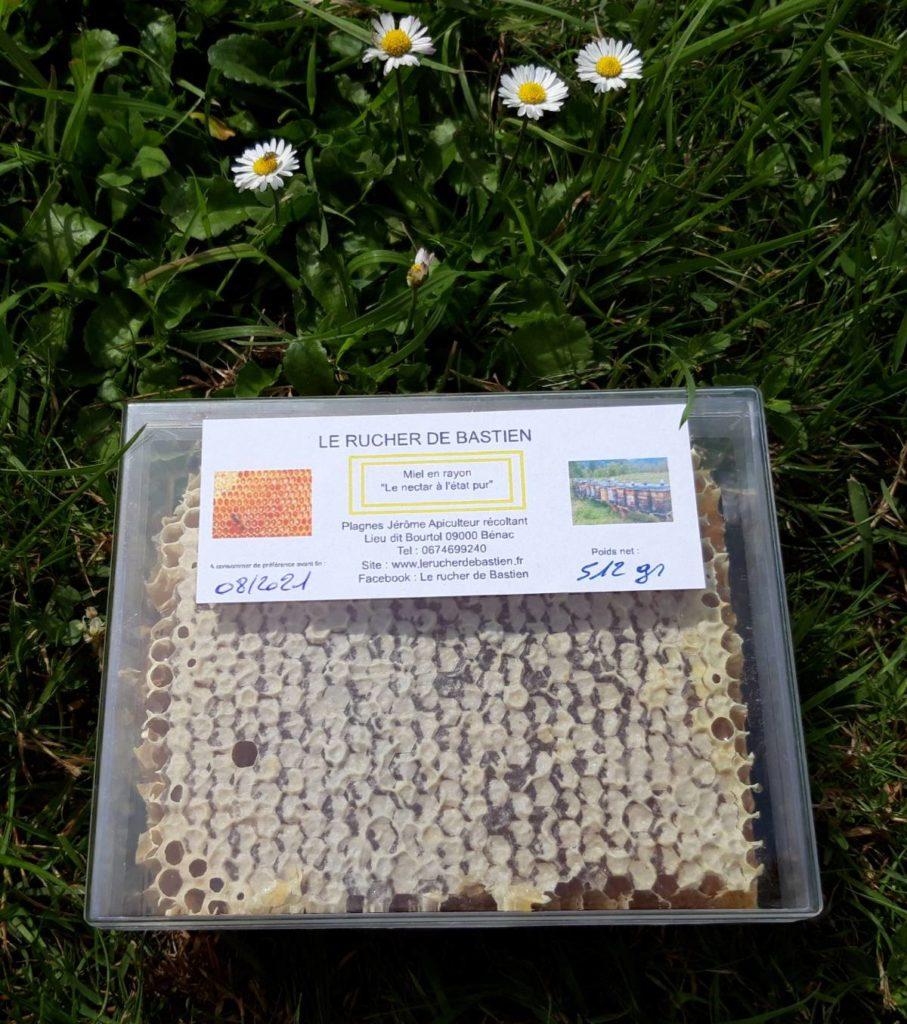 miel en rayon-miel en brèche-miel naturel