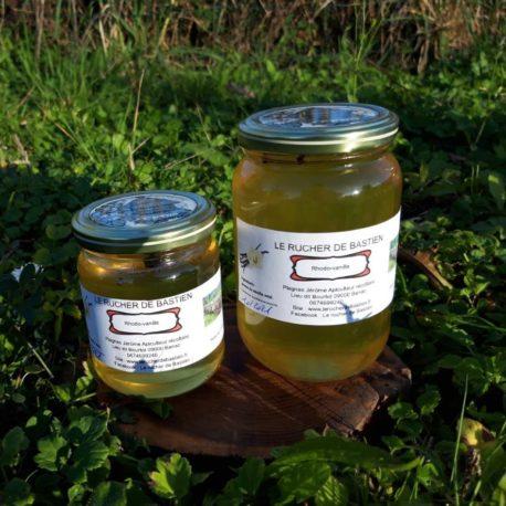 miel de rhododendron et vanille-ariège-pyrénées