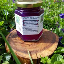 Gelée de violette au miel